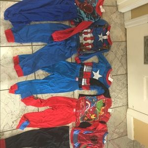 Other - 5 sets of size 6 pajamas